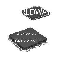 LC4128V-75T100C - Lattice Semiconductor Corporation