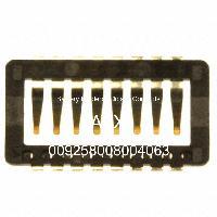 009258008004063 - AVX Corporation - 電池座,夾子和觸點