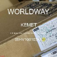05HV10B103KN - Kemet Electronics - 多层陶瓷电容器MLCC  - 含铅