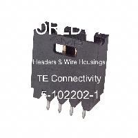5-102202-1 - TE Connectivity Ltd - 集管和線殼