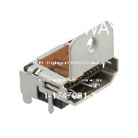 1-1747981-3 - TE Connectivity AMP Connectors - HDMI,Displayport和DVI連接器