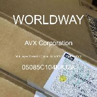05085C104KAJ2A - AVX Corporation - 多層陶瓷電容器MLCC  -  SMD / SMT