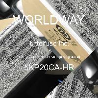 5KP20CA-HR - Littelfuse - TVS二極管 - 瞬態電壓抑制器