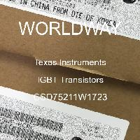 CSD75211W1723 - Texas Instruments - IGBT晶体管