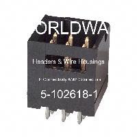 5-102618-1 - TE Connectivity AMP Connectors - 集管和線殼