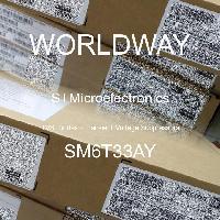SM6T33AY - STMicroelectronics - TVS二极管 - 瞬态电压抑制器