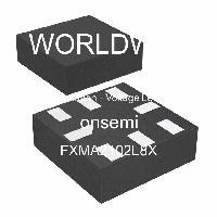 FXMA2102L8X - ON Semiconductor - 轉換 - 電壓電平