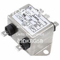 03DKBG5B - Delta Electronics - 交流电源线滤波器