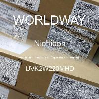 UVK2W220MHD - Nichicon - 铝电解电容器 - 含铅