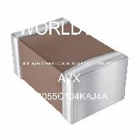 08055C104KAJ4A - AVX Corporation - 多層陶瓷電容器MLCC  -  SMD / SMT