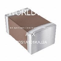 08051A101KAJ2A - AVX Corporation - 多层陶瓷电容器MLCC-SMD/SMT