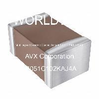 08051C102KAJ4A - AVX Corporation - 多層陶瓷電容器MLCC  -  SMD / SMT
