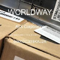 08052C331KAJ2A - AVX Corporation - 多层陶瓷电容器MLCC-SMD/SMT