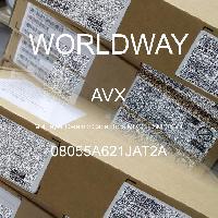 08055A621JAT2A - AVX Corporation - 多层陶瓷电容器MLCC - SMD/SMT