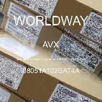 08051A102GAT4A - AVX Corporation - 多层陶瓷电容器MLCC - SMD/SMT