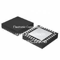 TLV320AIC32IRHB - Texas Instruments