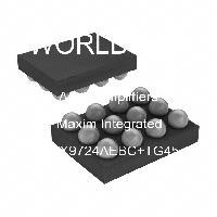 MAX9724AEBC+TG45 - Maxim Integrated Products