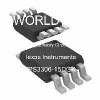 TPS3306-15DGK - Texas Instruments