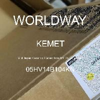 05HV14B104KN - Kemet Electronics - 多层陶瓷电容器MLCC  - 含铅