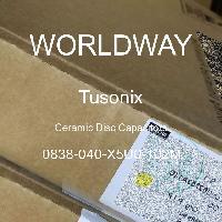 0838-040-X5U0-102M - Tusonix - 陶瓷圆盘电容器