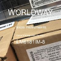 LM6181IM-8 - Texas Instruments - 運算放大器 - 運放