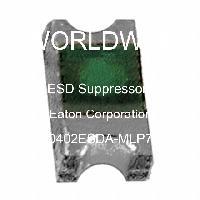 0402ESDA-MLP7 - Eaton Corporation - ESD抑制器