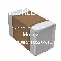 GRM188R71H332KA01D - Murata Manufacturing Co Ltd
