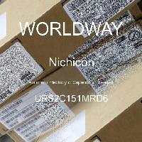 URS2C151MRD6 - Nichicon - 铝电解电容器 - 含铅