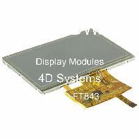 4DLCD-FT843 - 4D Systems - 顯示模塊