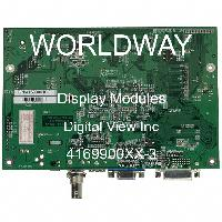 4169900XX-3 - Digital View Inc - 顯示模塊