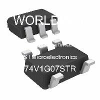 74V1G07STR - STMicroelectronics - 緩沖器和線路驅動器
