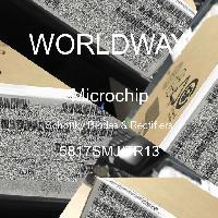 5817SMJ/TR13 - Microsemi - 肖特基二極管和整流器