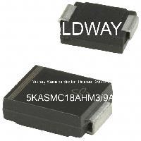 5KASMC18AHM3/9A - Vishay Semiconductor Diodes Division - TVS二极管 - 瞬态电压抑制器
