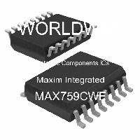 MAX759CWE - Maxim Integrated Products