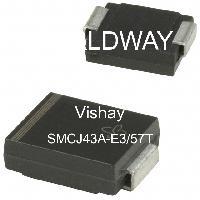 SMCJ43A-E3/57T - Vishay Intertechnologies