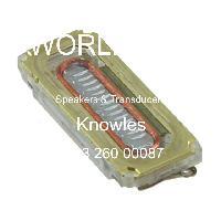 2403 260 00087 - Knowles - 揚聲器和傳感器