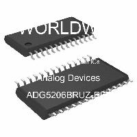 ADG5206BRUZ-RL7 - Analog Devices Inc - 多路复用器开关IC