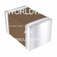 08052U110GAT2A - AVX Corporation - 多层陶瓷电容器MLCC - SMD/SMT