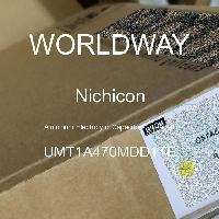 UMT1A470MDD1TE - Nichicon - 铝电解电容器 - 含铅