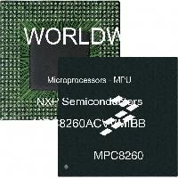 MPC8260ACVVMIBB - NXP Semiconductors - 微处理器 -  MPU