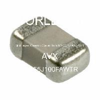 08055J100FAWTR - AVX Corporation - 多层陶瓷电容器MLCC-SMD/SMT
