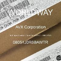 08051J0R6BAWTR - AVX Corporation - 多层陶瓷电容器MLCC-SMD/SMT