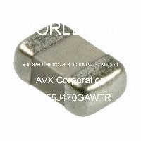 08055J470GAWTR - AVX Corporation - 多層陶瓷電容器MLCC  -  SMD / SMT