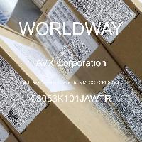 08053K101JAWTR - AVX Corporation - 多層陶瓷電容器MLCC  -  SMD / SMT