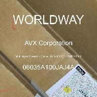 06035A100JAJ4A - AVX Corporation - 多层陶瓷电容器MLCC-SMD/SMT