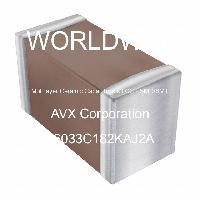 06033C182KAJ2A - AVX Corporation - 多层陶瓷电容器MLCC-SMD/SMT