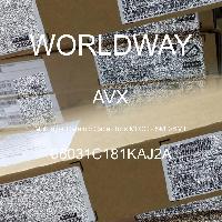 06031C181KAJ2A - AVX Corporation - 多層陶瓷電容器MLCC  -  SMD / SMT