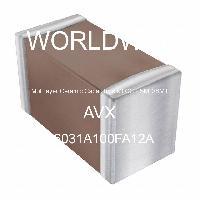 06031A100FA12A - AVX Corporation - 多层陶瓷电容器MLCC - SMD/SMT