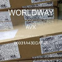 06031A430GAT2A - AVX Corporation - 多层陶瓷电容器MLCC - SMD/SMT