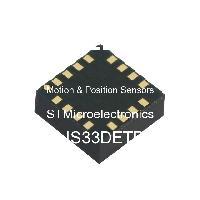 LIS33DETR - STMicroelectronics - 運動和位置傳感器
